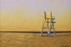 The Lifeguard's Chair