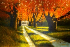Fall at Mulberry Knoll, 29x46