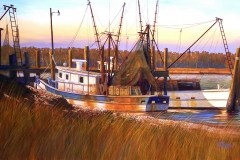 Hudson Brothers Seafood, 28x40