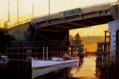 Lewes Canal Bridge, 11x14
