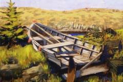 Monhegan Skiff, 11x14
