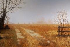 Muddy Lane, 16x32