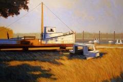 Saxis Boatyard, 16x32